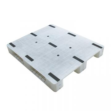 Stackable single faced 9 runners grid euro plastic pallet price