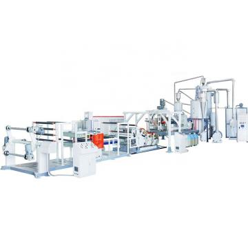 Plastic PP hollow grid sheet extrusion production making machine line