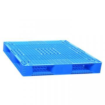 Stackable flat top anti slip large food grade plastic pallet for sale