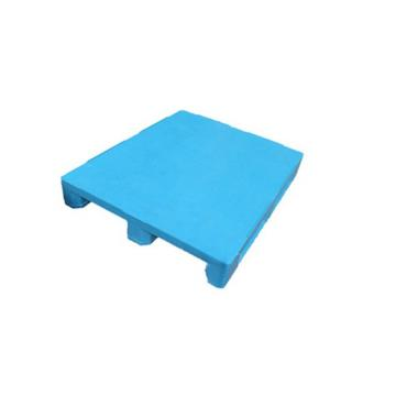 China Brand Wholesale HDPE Plastics Single Faced Grid Nine Feet Cheap Plastic Pallet Prices