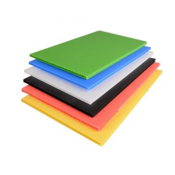 Polypropylene PP Hollow Coroplast Sheet Corrugated Sheet