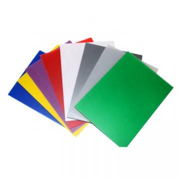 Free Sample Colorful Hollow PP Sheet Plastic Sheets Board