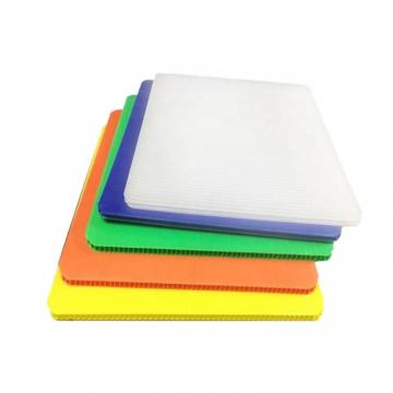 Colorful Hollow PP Sheet Corrugated Board Coloplastic in Alands Plastic