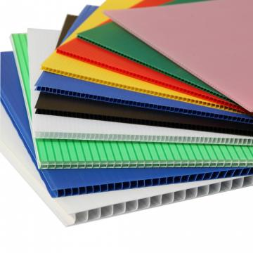 Any Colors Plastic Corrugated Plastic Sheet PP Hollow Sheet