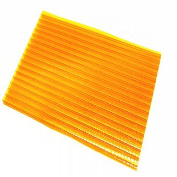 Polycarbonate Hollow Plastic Multiwall Corrugated Roofing PC Sheet Price in Kerala