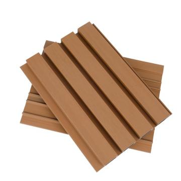 Interior Decorative 3D Wood Effect Bathroom Groove PVC Wall Cladding Paneling for Hot Sale