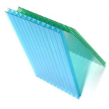 Blue Color PP Hollow Sheet PP Corrugated Plastic Sheet