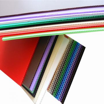 PP Hollow Sheet (Correx Sheet) Used for Printing, Construction