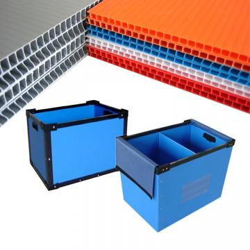 Colorful PP Hollow Corrugatedt Plastic Sheet or Board for Packaging
