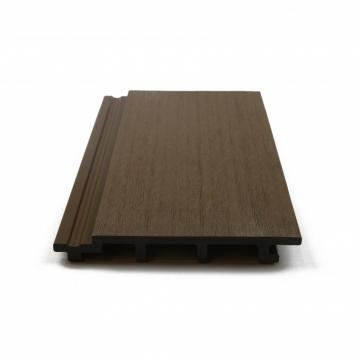 Wooden Look WPC Wood Plastic No Painting WPC Wood Plastic Composite Cladding