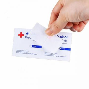 Medical Nonwoven Alcohol Pad Swab with Ce