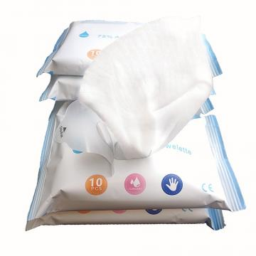 Single Pack Customized Design 70% Isopropyl Hospital Wet Wipes