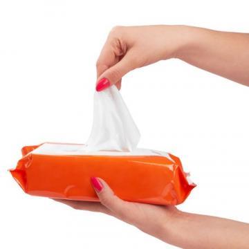 Wood Pulp Anti Virus Rubbing Alcohol Prep Skin Protective Wipe