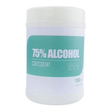 75% Alcohol Wet Antibacterial Sanitizing Disinfectant Sanitizer Wipes