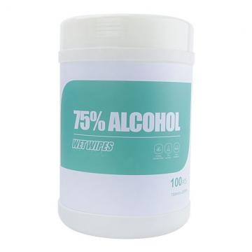 Factory Price FDA Ce 80PCS 75% Antibacterial Sanitizing Disinfecting Wet Wipes Alcohol